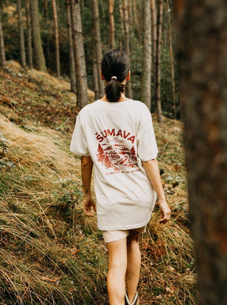 Krémové dámske tričko ZOOT Original Šumava