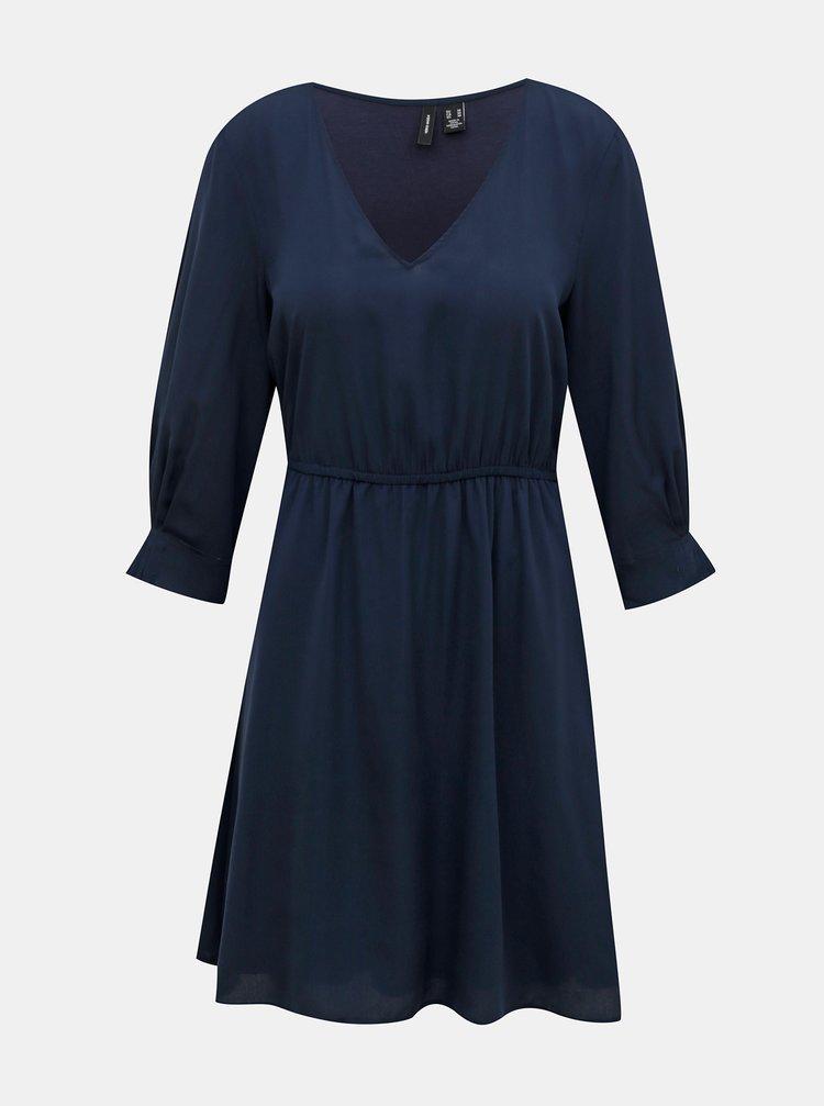 Tmavomodré šaty VERO MODA Vonnie