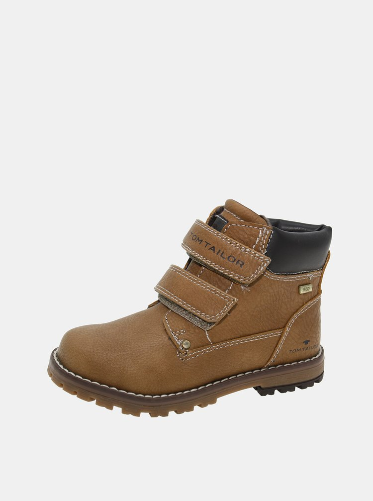 Hnedé detské zimné topánky Tom Tailor