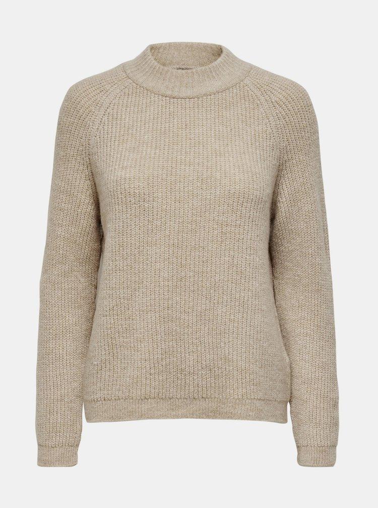 Béžový sveter ONLY Jade
