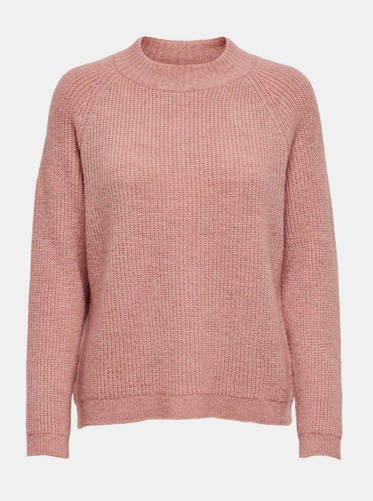 Růžový svetr ONLY Jade
