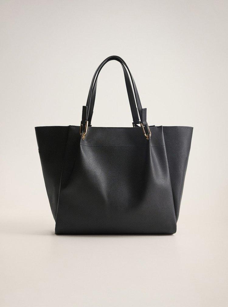 Čierna kabelka Mango