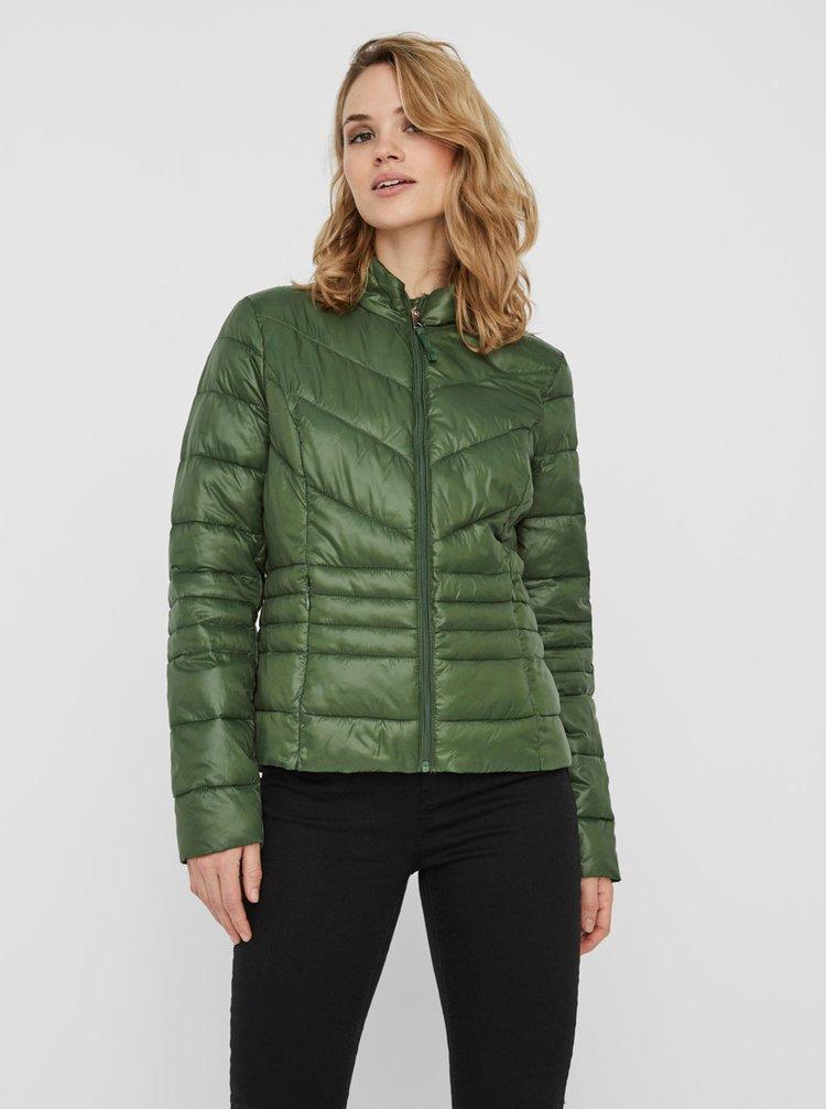 Zelená prošívaná zimní bunda VERO MODA