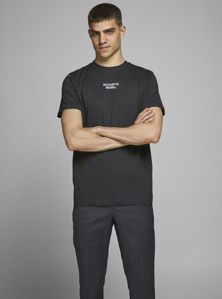 Tmavomodré tričko Jack & Jones Prbladean