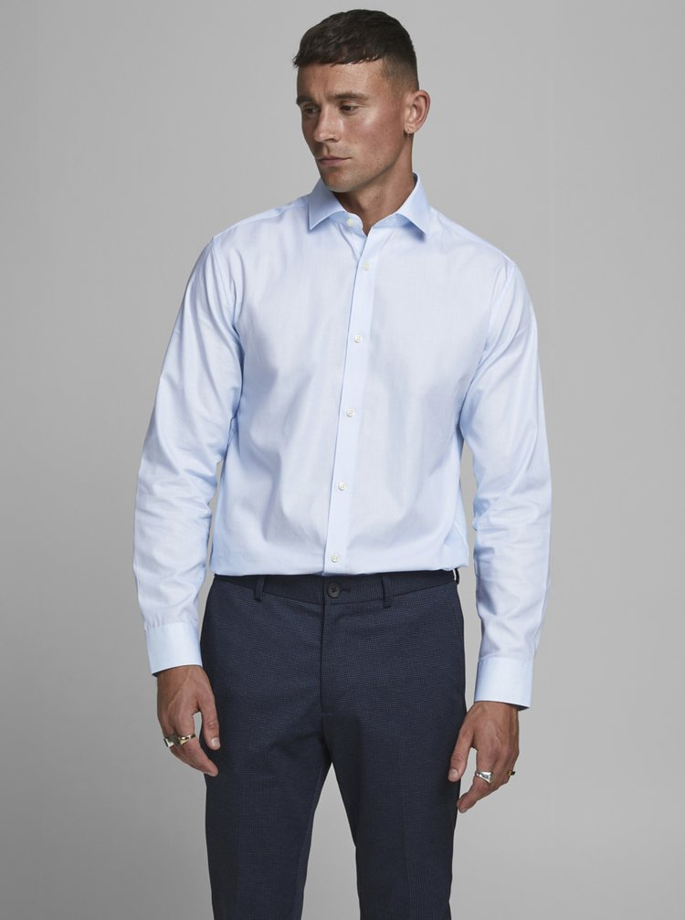 Světle modrá košile Jack & Jones Prblaroyal