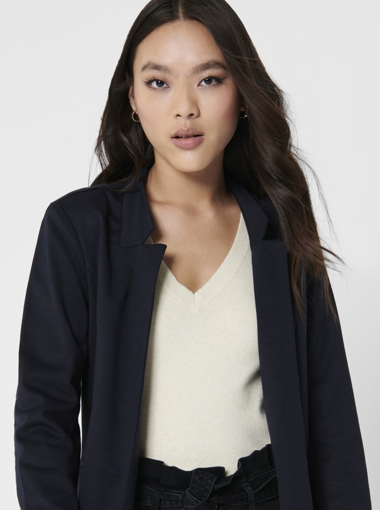 Tmavomodrý ľahký kabát ONLY Penny