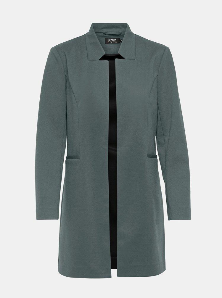 Zelený lehký kabát ONLY Penny