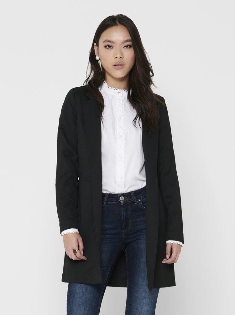 Čierny ľahký kabát ONLY Penny