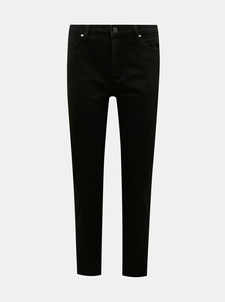 Černé straight fit džíny ONLY Emily
