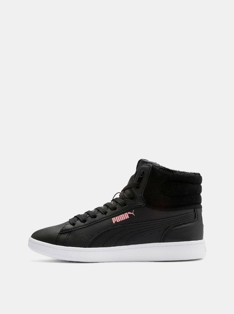 Černé dámské kotníkové tenisky Puma