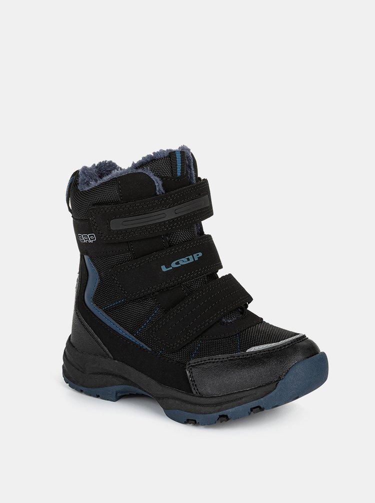 Černé dětské zimní boty LOAP