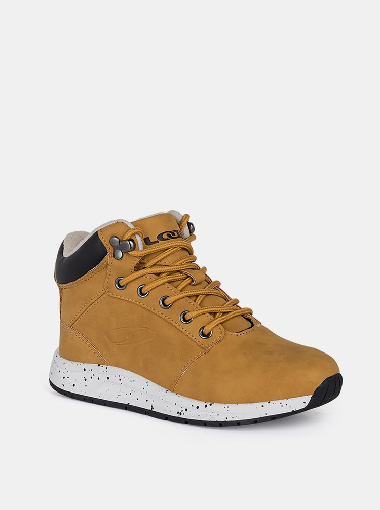 Hnedé chlapečenské zimné topánky LOAP
