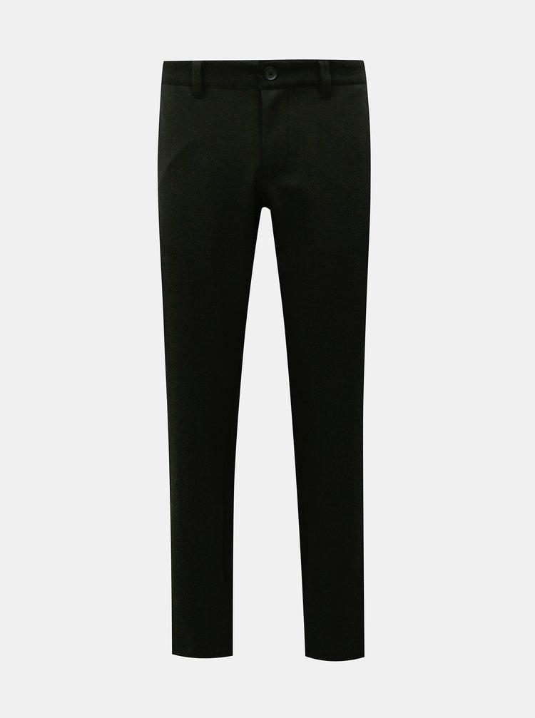 Černé kalhoty ONLY & SONS Mark