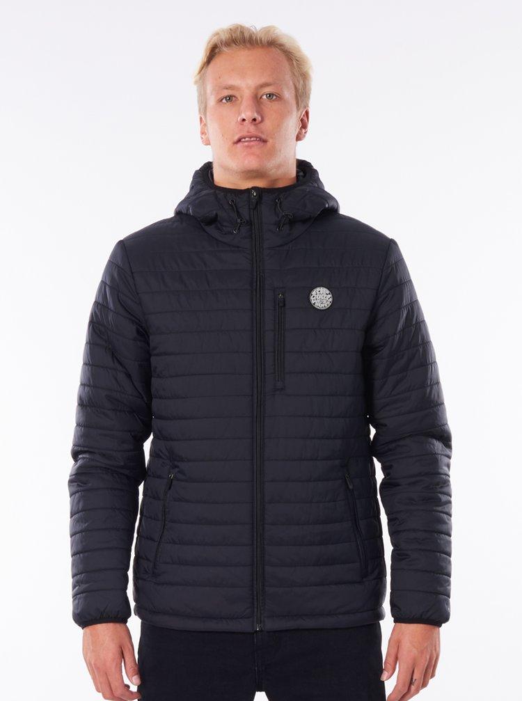 Černá pánská zimní prošívaná bunda Rip Curl