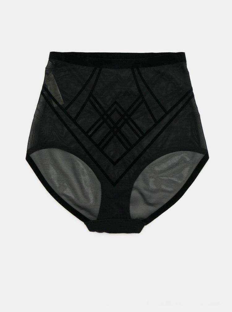 Čierne tvarujúce nohavičky DORINA