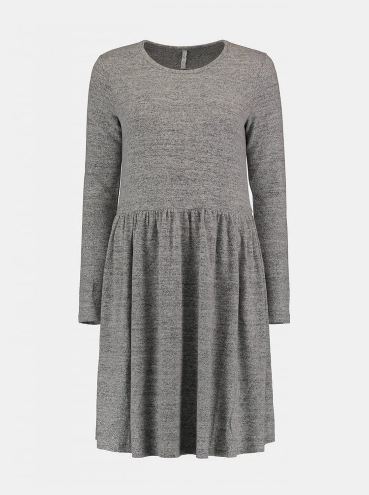 Šedé šaty Haily´s