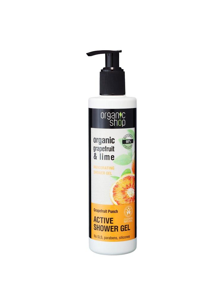 Organic Shop Povzbuzující sprchový gel Grapefruitový punč 280 ml