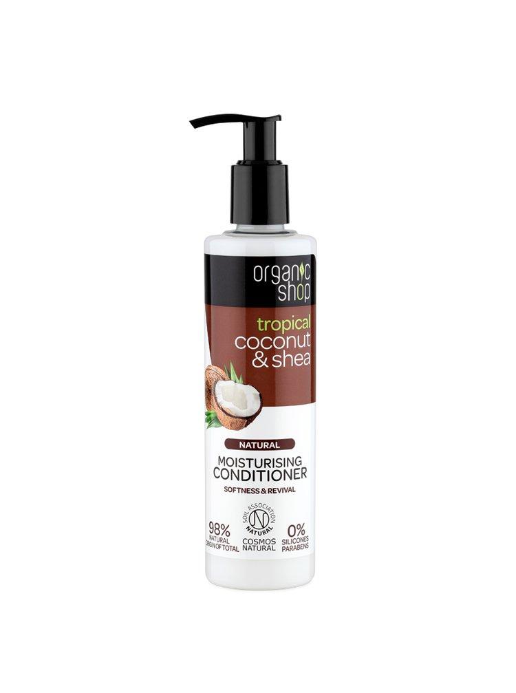 Organic Shop Hydratační kondicionér Kokos a bambucké máslo 280 ml