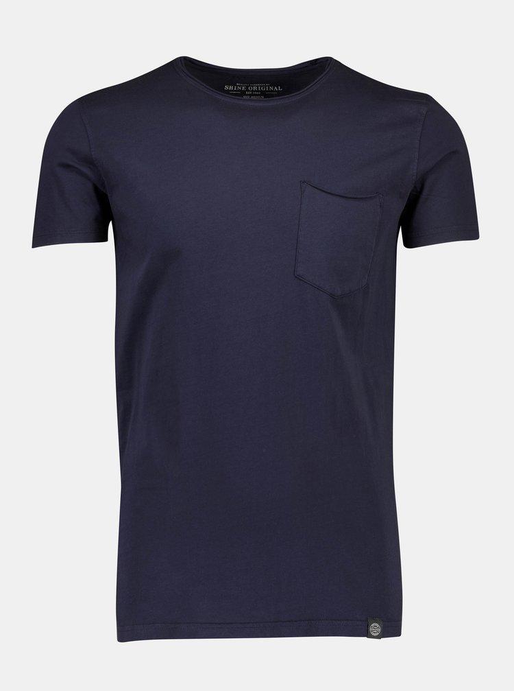 Tmavě modré tričko Shine Original