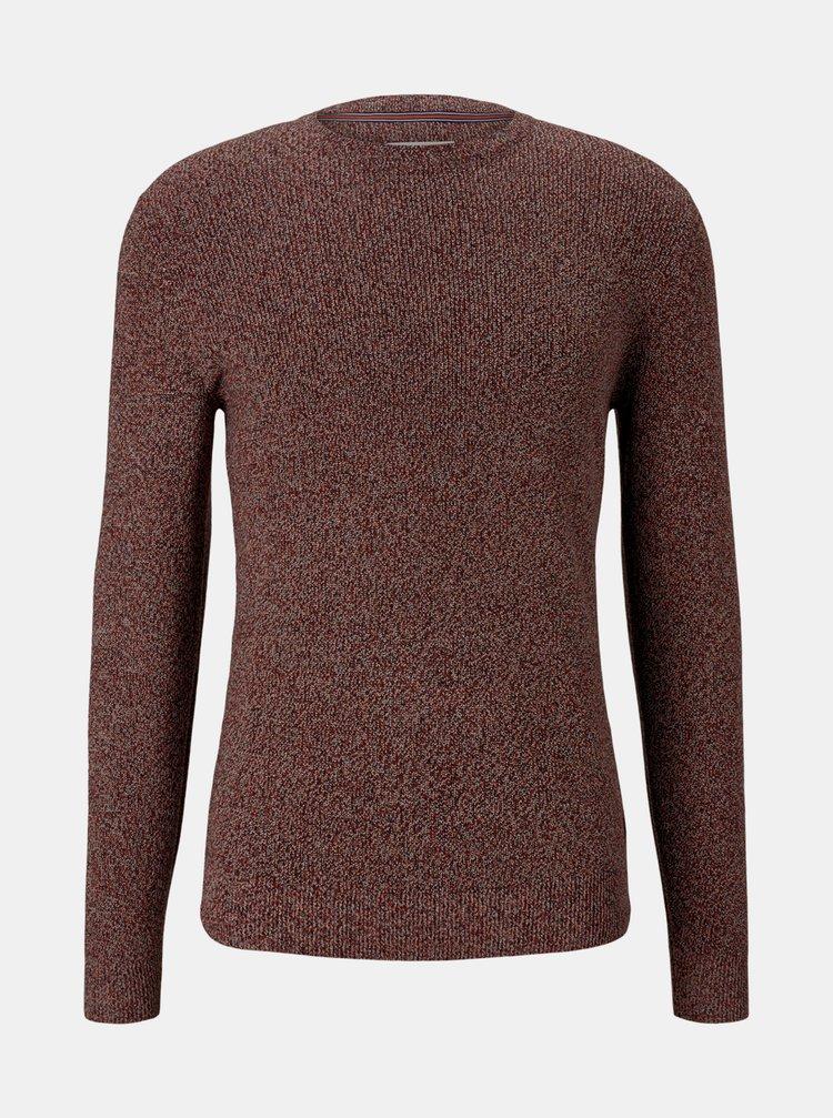 Vínový pánsky sveter Tom Tailor