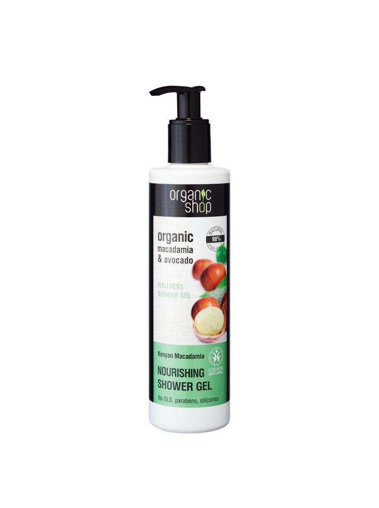 Organic Shop Vyživující sprchový gel Keňská macadamie 280 ml