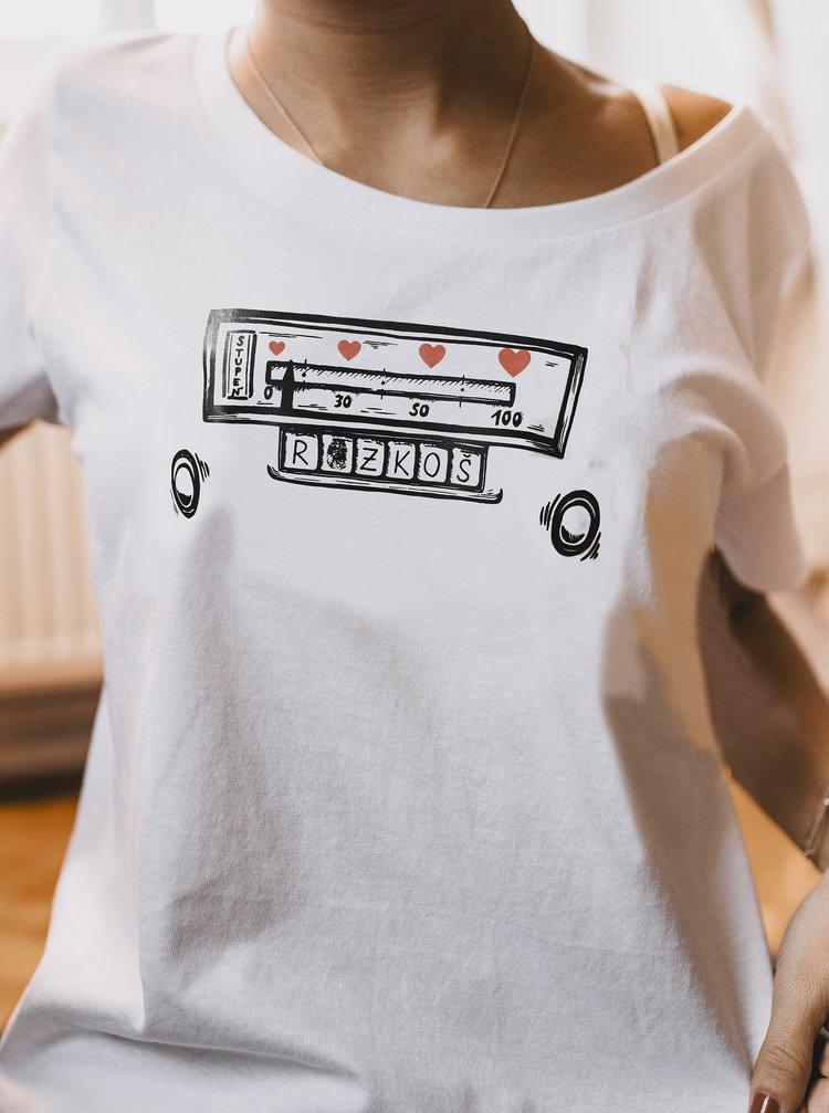 Bílé dámské tričko ZOOT Original Nalaď si mě