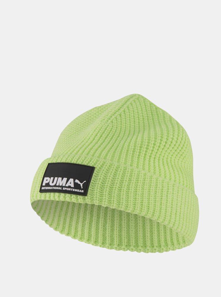 Světle zelená pánská čepice Puma