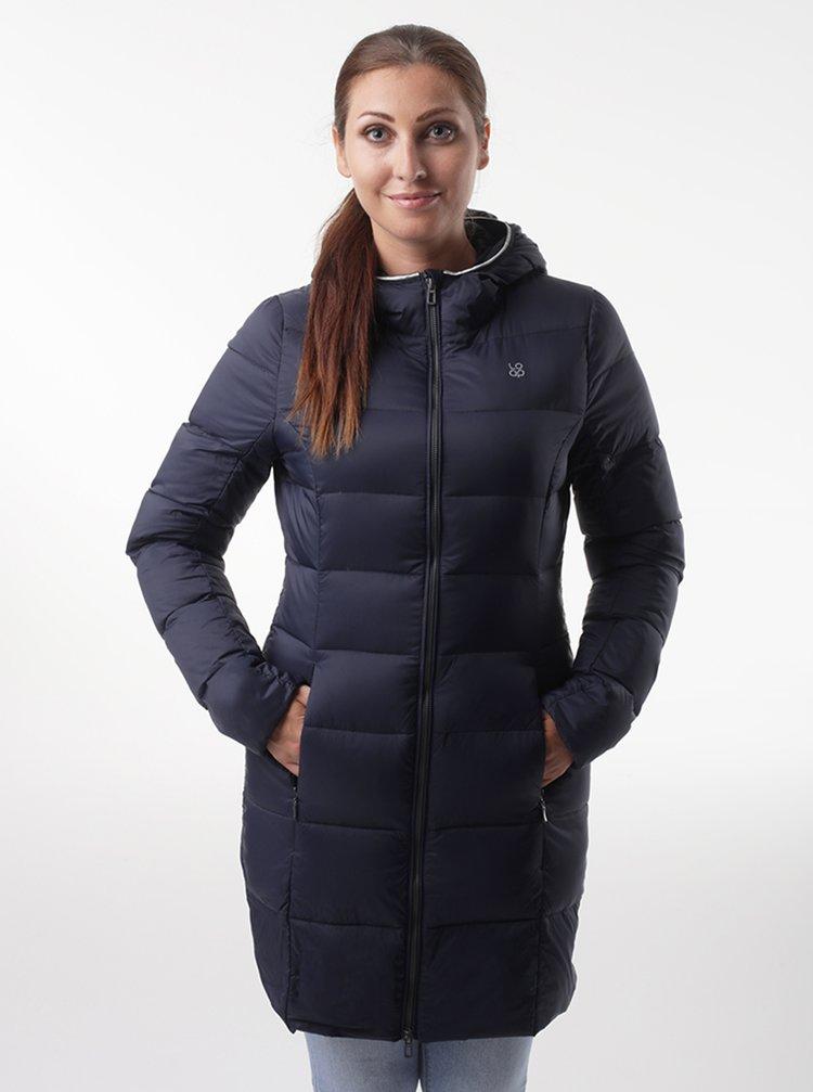 Tmavě modrý dámský prošívaný kabát LOAP Ipiza