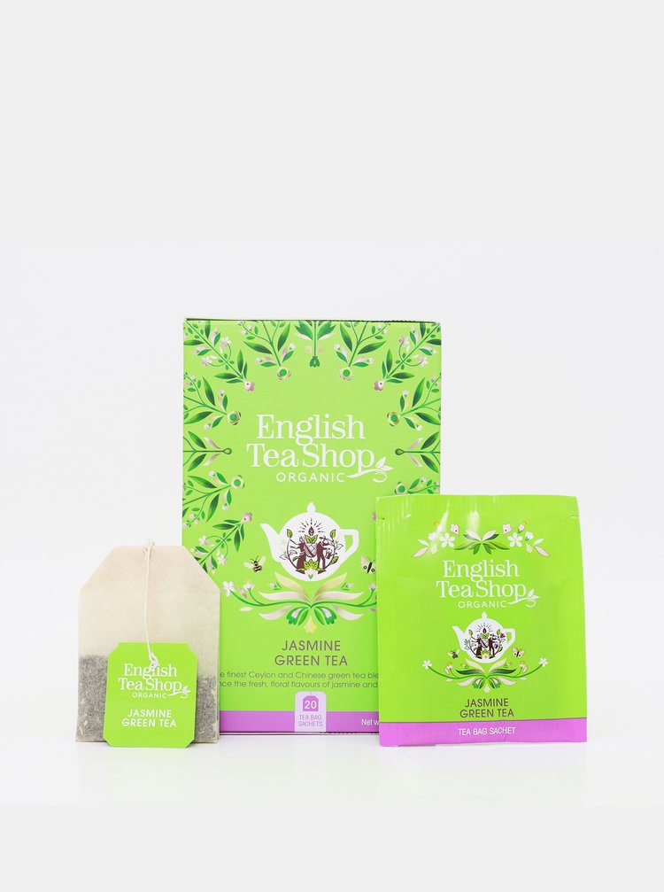 Organický zelený čaj s jasmínom English Tea Shop
