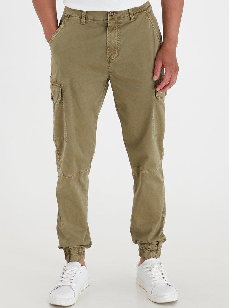 Khaki kalhoty s kapsami Blend