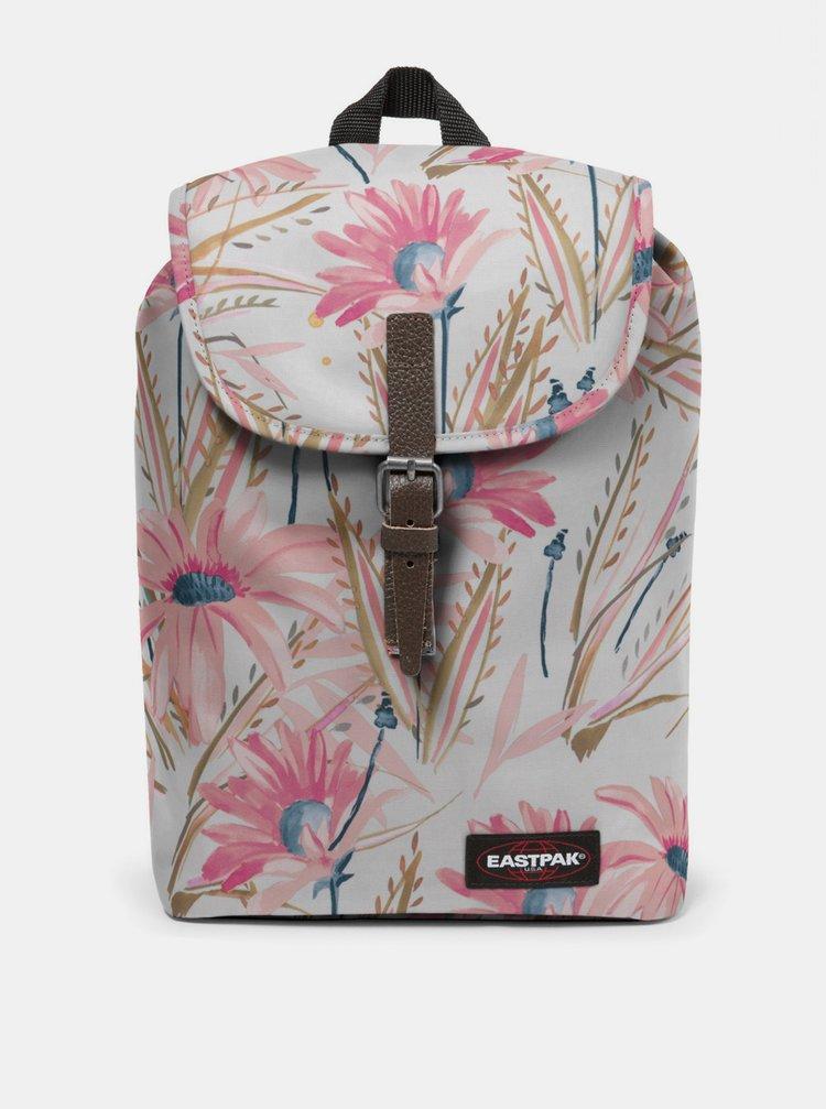 Bílý vzorovaný batoh Eastpak 10,5 l