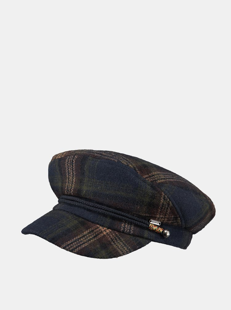 Tmavě modrá dámská čepice s příměsí vlny Barts