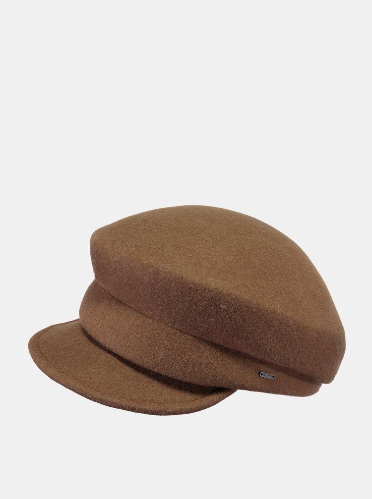 Hnedá dámska vlnená čiapka Barts
