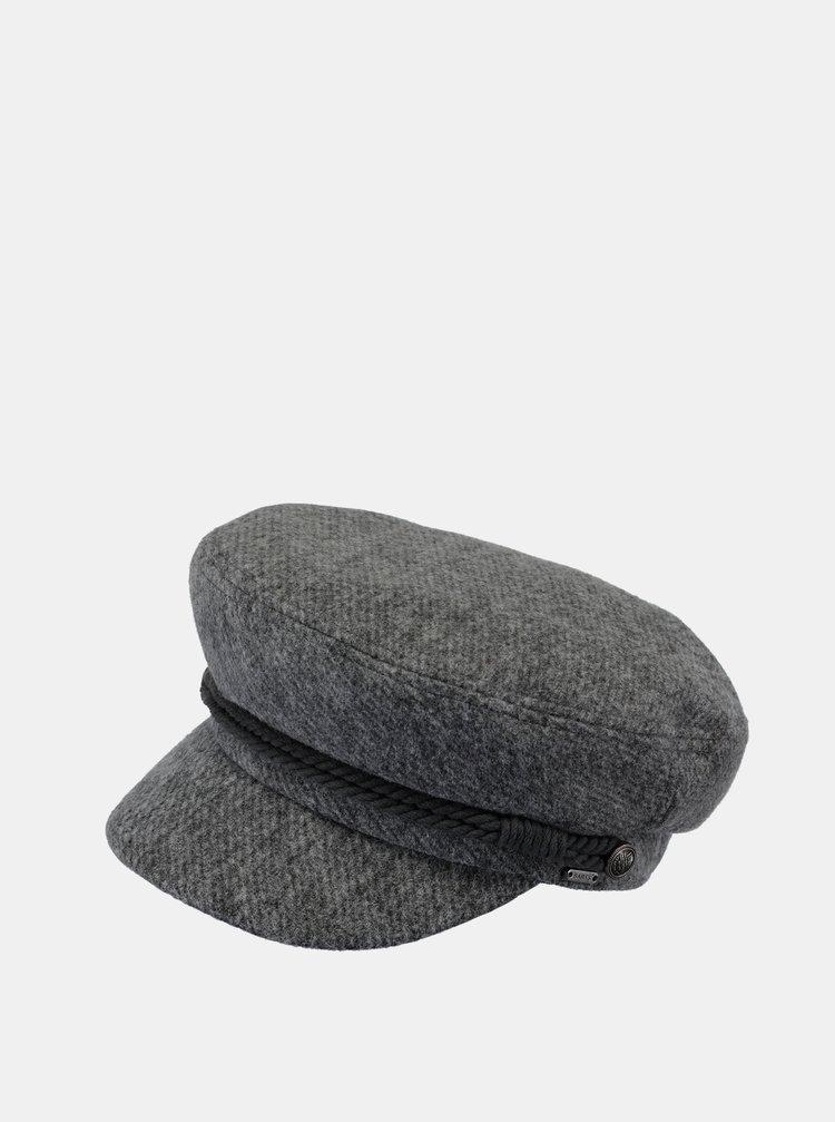 Šedá dámska čiapka s prímesou vlny Barts