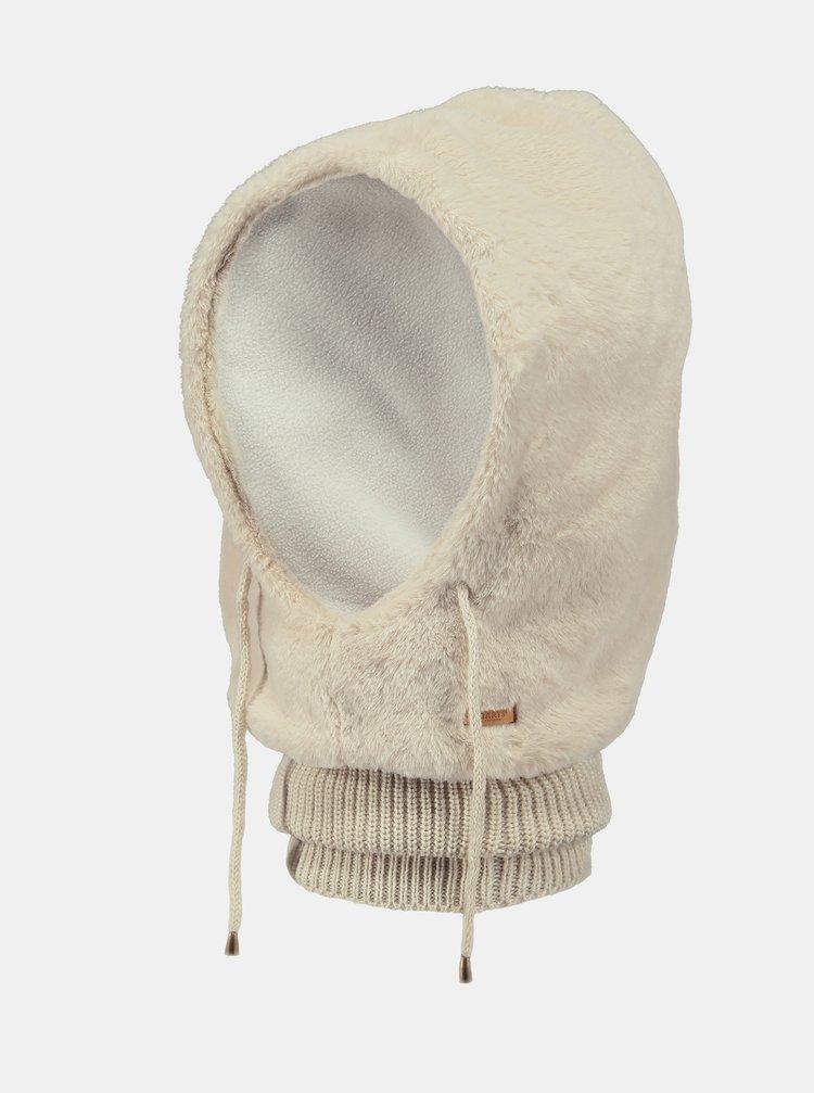 Krémová dámská kukla z umělého kožíšku Barts