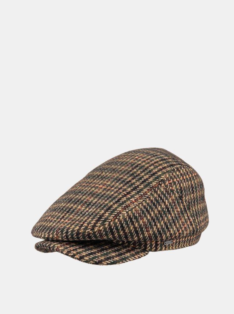 Hnedá dámska vzorovaná čiapka Barts