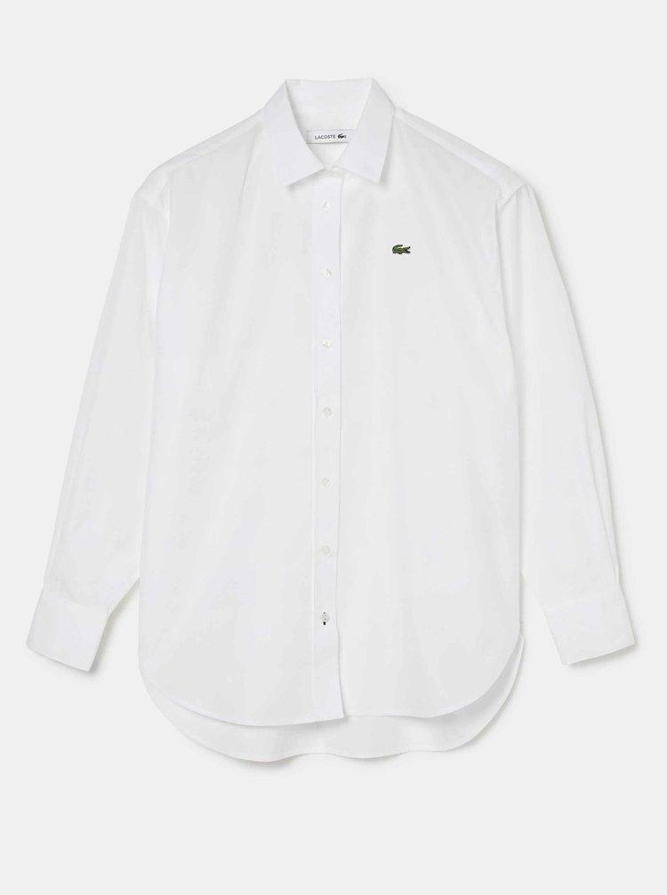 Bílá dámská košile Lacoste