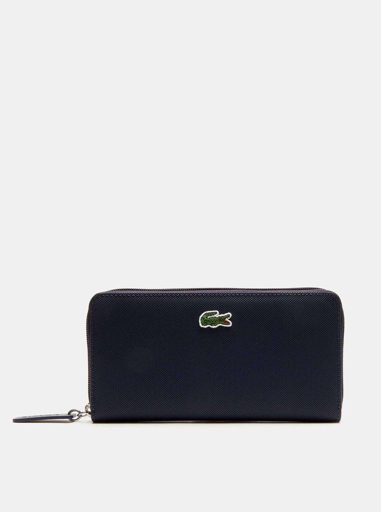 Tmavě modrá dámská peněženka Lacoste