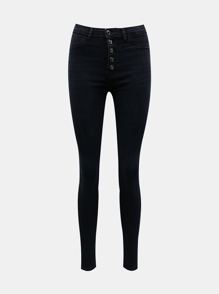 Tmavě modré skinny fit džíny TALLY WEiJL