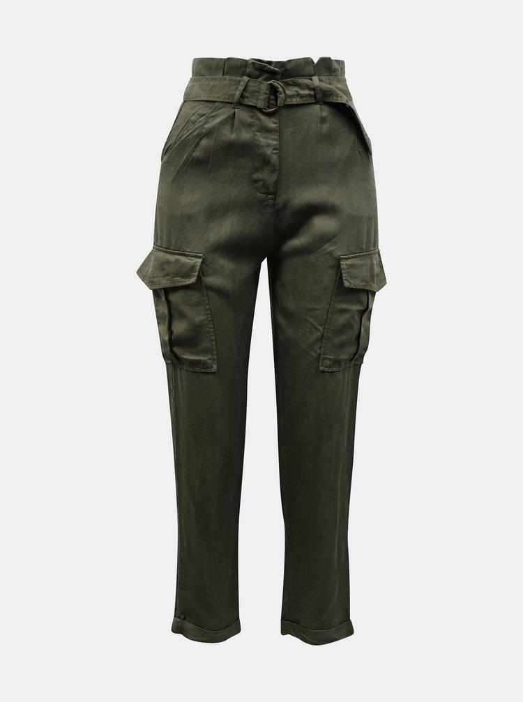 Kaki nohavice s vreckami TALLY WEiJL