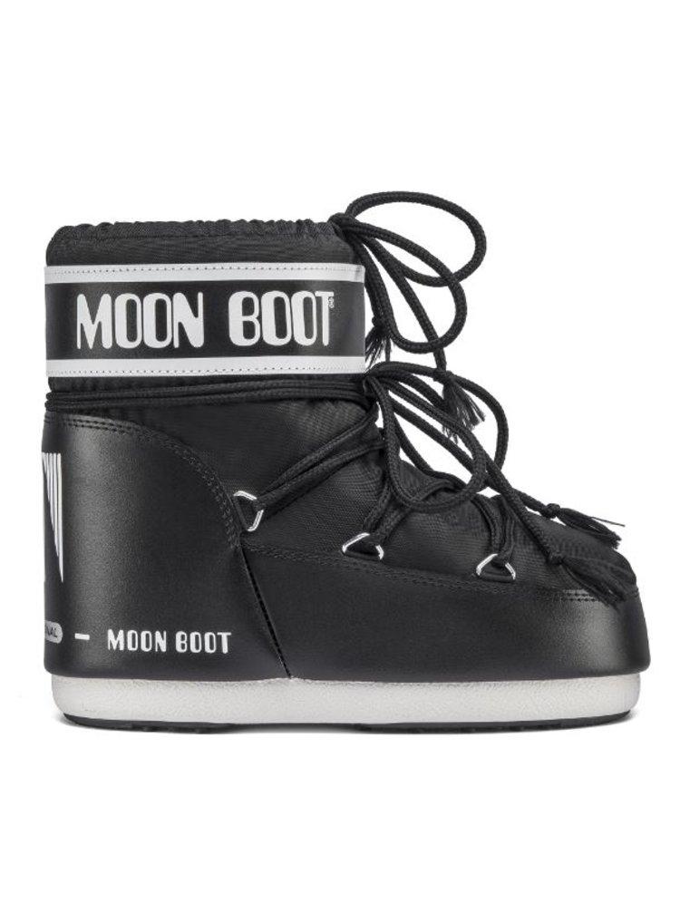 Moon Boot černé zimní boty Classic Low2 Black