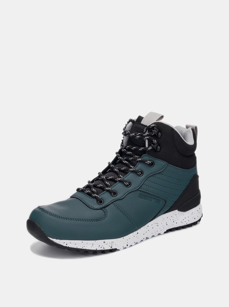 Tmavě modré pánské kotníkové boty SAM 73