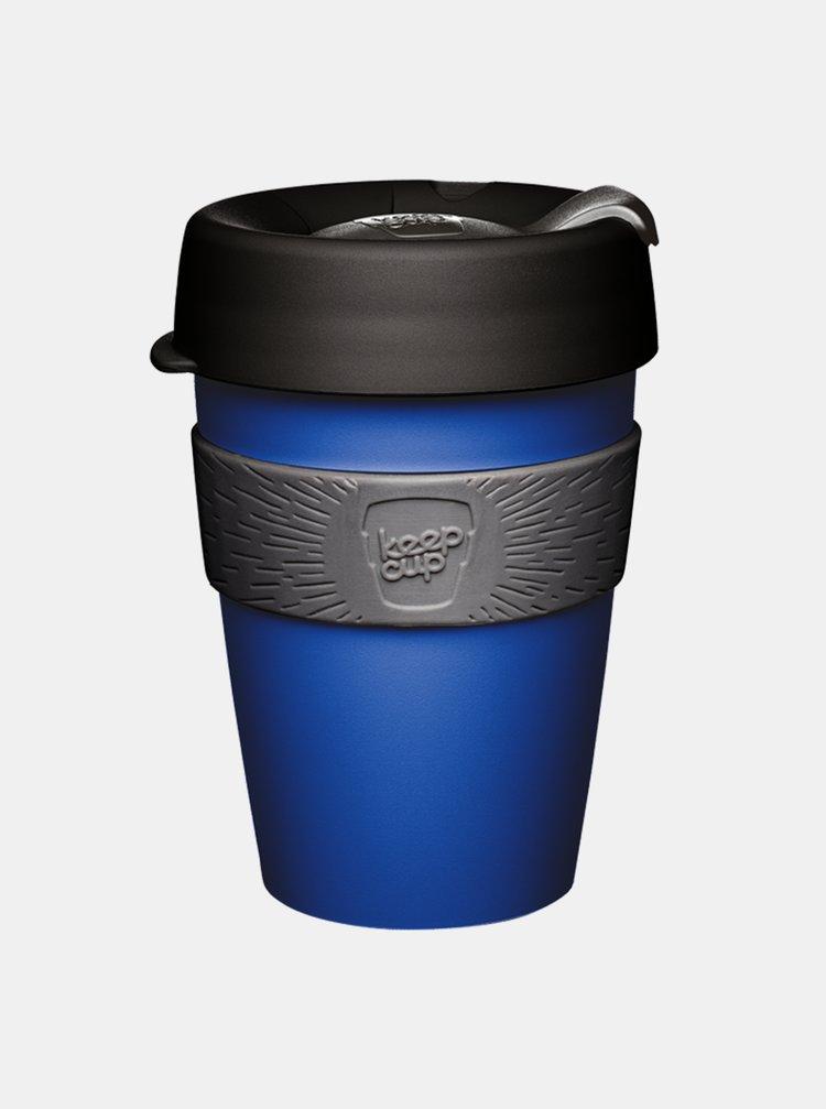 Modrý plastový cestovný hrnček KeepCup Shore medium 340 ml