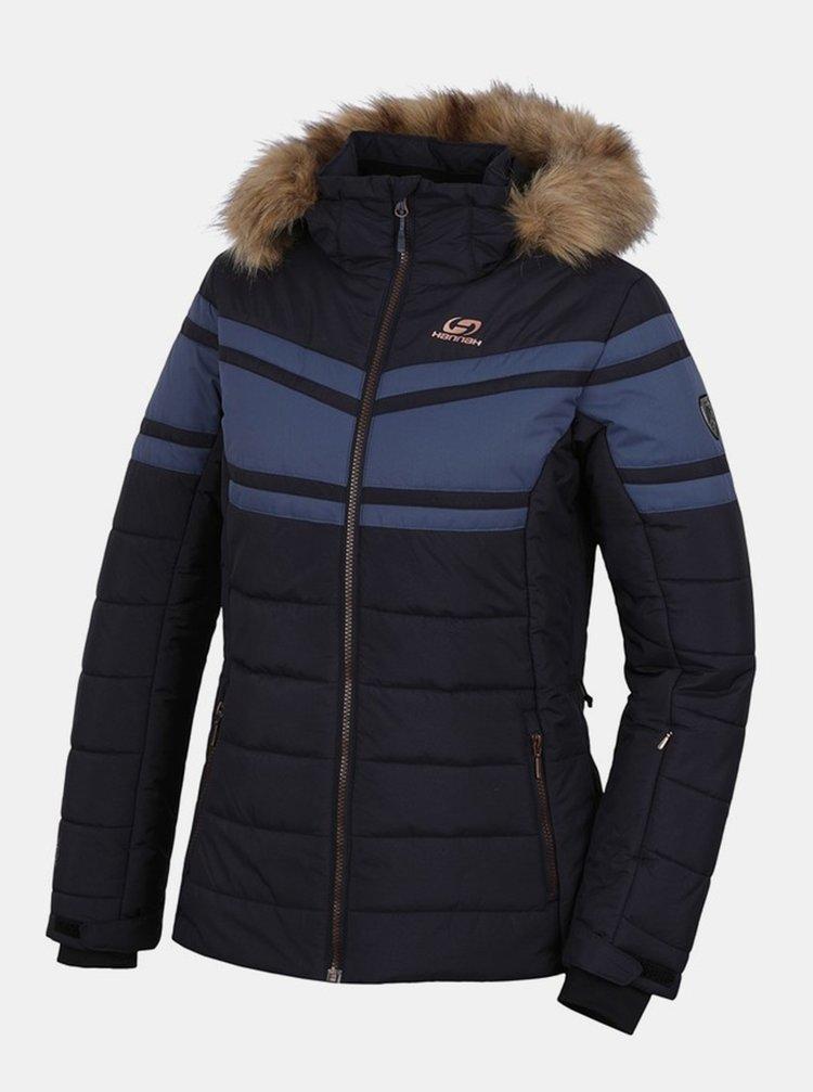 Tmavomodrá dámska zimná bunda Hannah