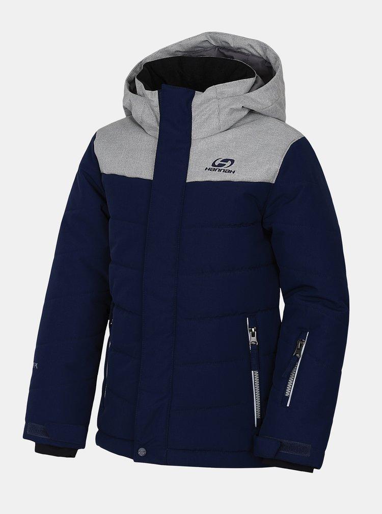 Tmavě modrá klučičí zimní bunda Hannah