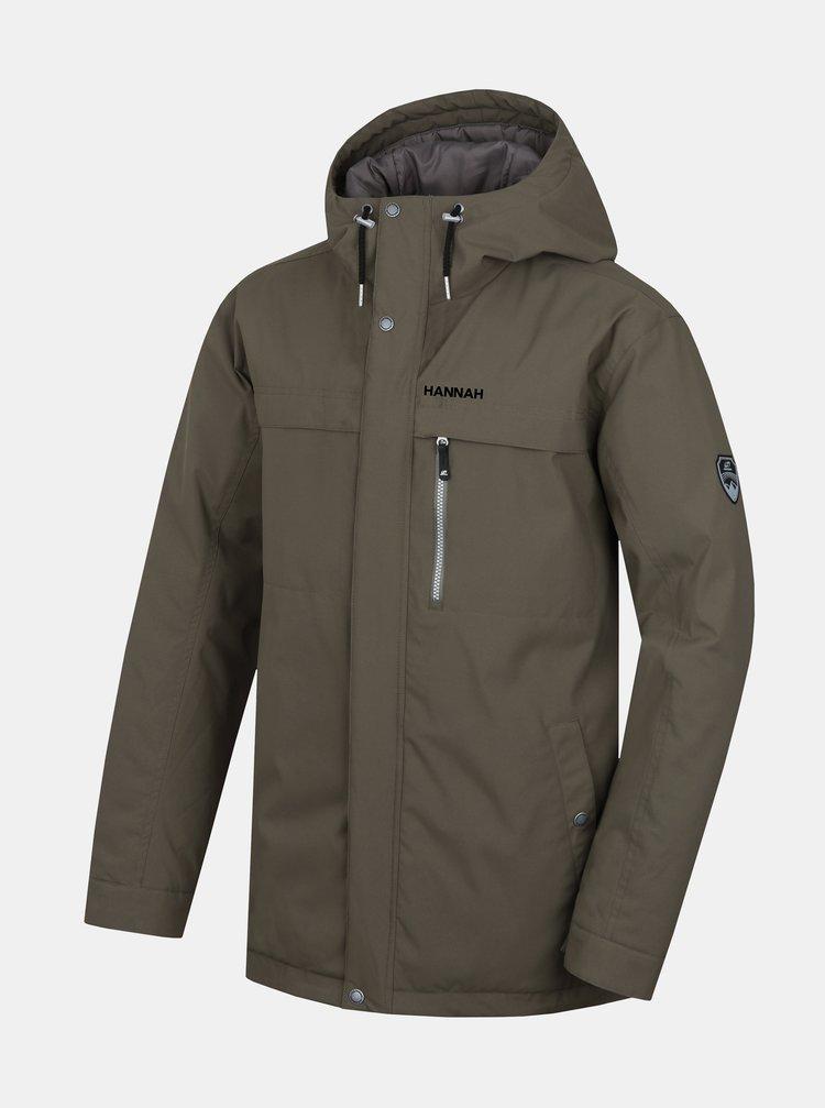 Khaki pánská zimní bunda Hannah