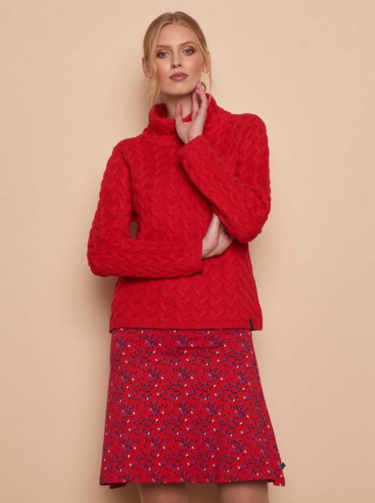 Červený dámský svetr Tranquillo