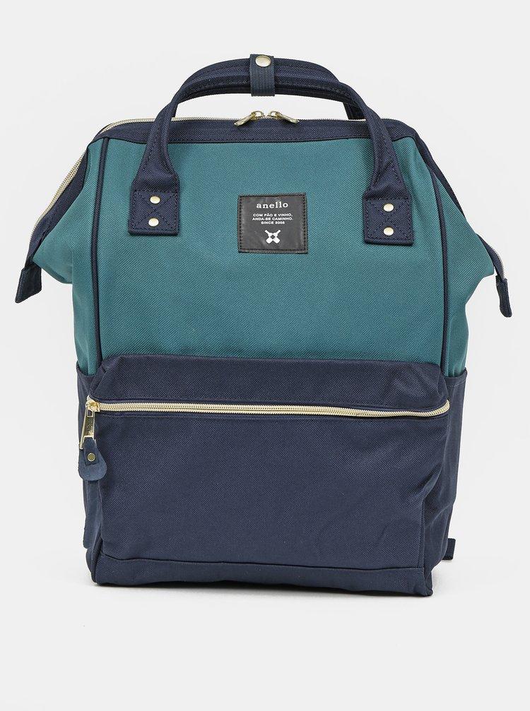 Tmavě modrý batoh Anello 18 l