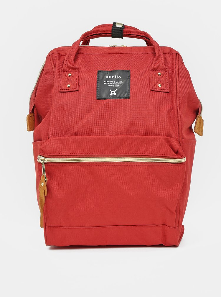 Červený batoh Anello 10 l