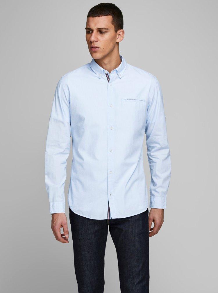 Světle modrá košile Jack & Jones